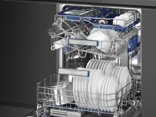 Конденсационная сушка посуды в посудомоечных машинах Smeg