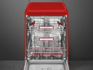 Посудомоечная машина Smeg LVFABRD2 в стиле ретро — обзор модели