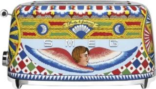 Smeg TSF02DGEU — расписной тостер из лимитированной серии