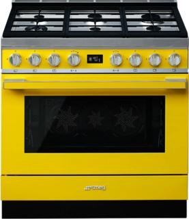 Дизайнерские газовые плиты - яркая линейка SMEG Portofino украсить вашу кухню