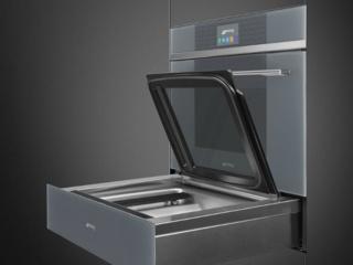 Невероятный дизайн от компании SMEG в шкафах шоковой заморозки, материалы и комплектация