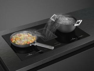 Варочная панель со встроенной вытяжкой - обзор Smeg HOBD682D, характеристики, функции и особенности