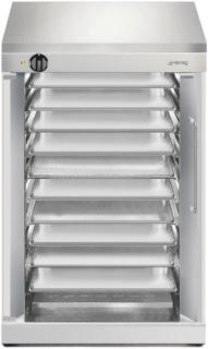 Расстоечные шкафы Smeg на шесть и десять уровней — оборудование для пекарни