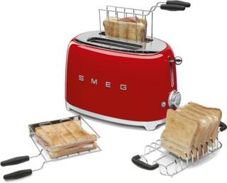 Тостер Smeg TSF01RDEU — обзор красной модели в стиле ретро