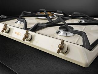 Газовая варочная поверхность SMEG (СМЕГ) SRV864POGH: дизайн и функционал