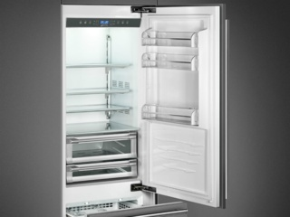 Блокировка панели управления в холодильниках Smeg