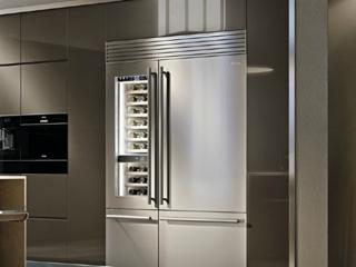 Отделение Multizone в холодильниках Smeg с регулировкой температуры