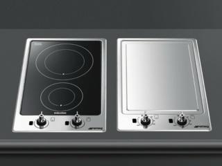 Защита от старта при отсутствии посуды на варочных панелях SmegЗащита от старта при отсутствии посуды на варочных панелях Smeg