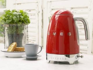 Съемный моющийся фильтр из нержавеющей стали в чайниках Smeg