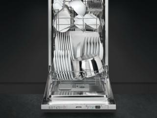 Деликатный режим в посудомойках Смег