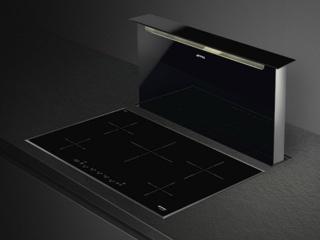 Автоматическое определение диаметра посуды в индукционных варочных панелях Smeg