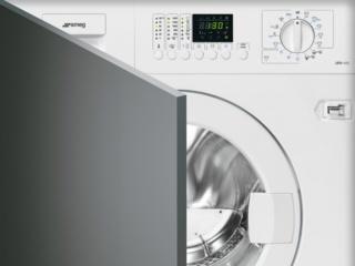 Программа Clean — очистка стиральной машины SMEG от волокон и шерсти