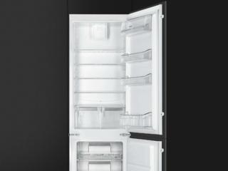 Обзор встраиваемого холодильника Smeg C7280NEP1